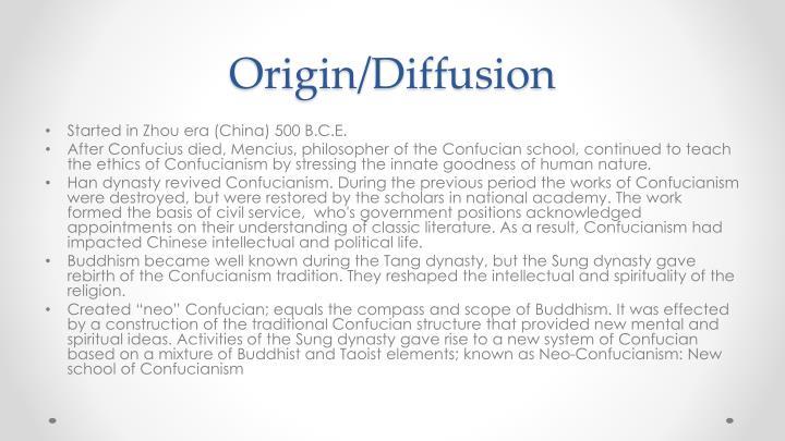 Origin/Diffusion