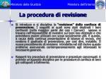 la procedura di revisione