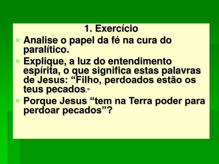 1. Exercício