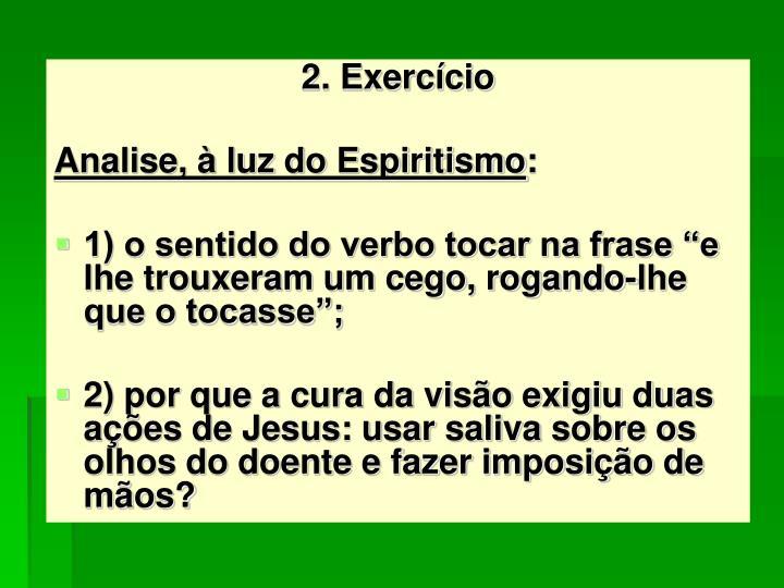 2. Exercício