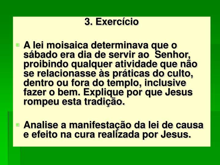 3. Exercício