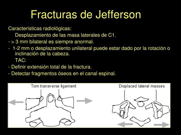 Fracturas de Jefferson