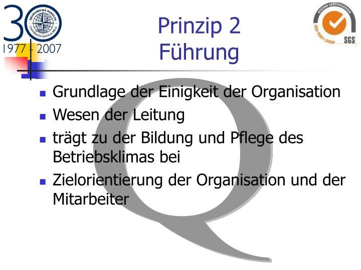 Prinzip 2