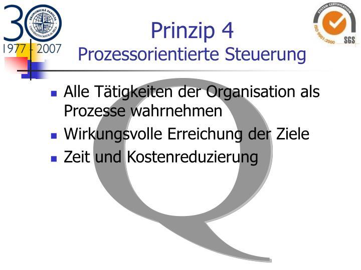 Prinzip 4