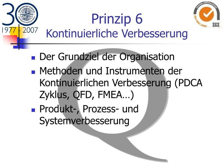 Prinzip 6