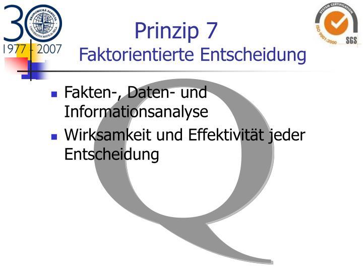 Prinzip 7