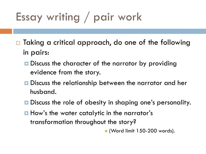 150 word essay examples