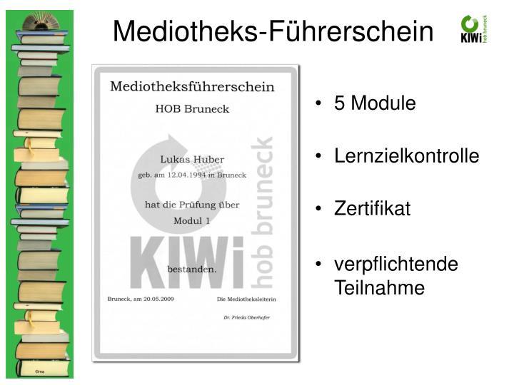 Mediotheks-Führerschein