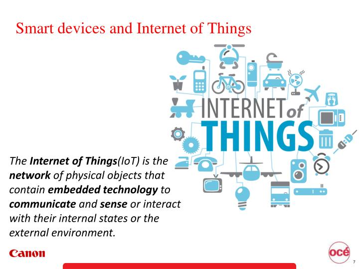 Smart devices and Internet of Things