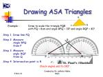 drawing asa triangles1