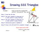 drawing sss triangles1