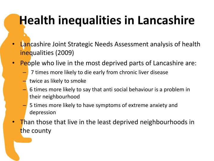 Health inequalities in lancashire