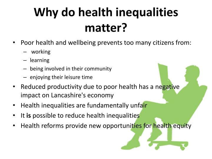 Why do health inequalities matter?