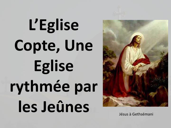 LEglise Copte, Une Eglise rythme par