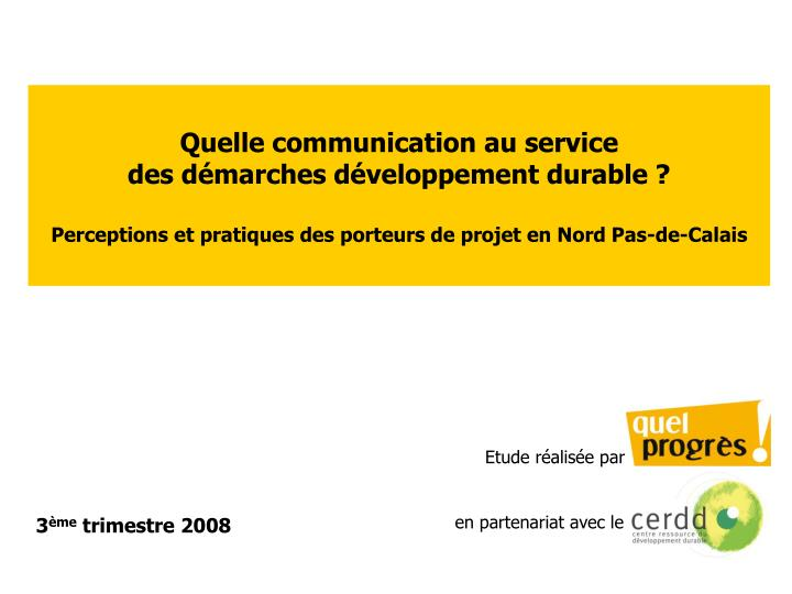 Quelle communication au service