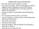 dealing with sexual harassment1