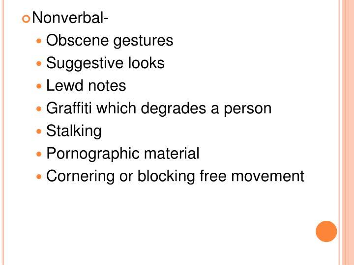 Nonverbal-