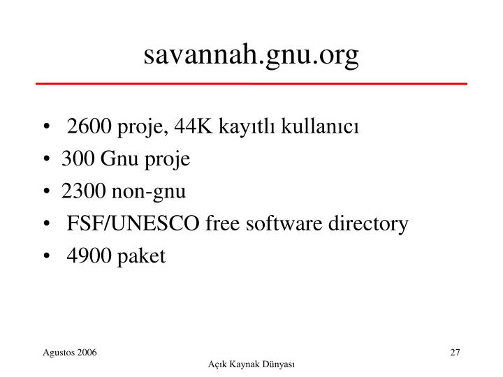 savannah.gnu.org