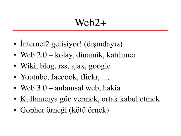 Web2+