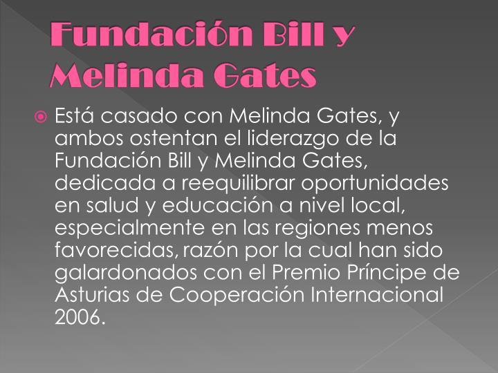 Fundación Bill y Melinda Gates