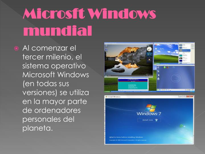 Microsft Windows