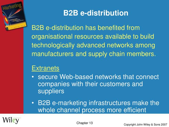 B2B e-distribution