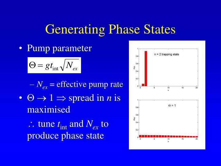 Generating Phase States