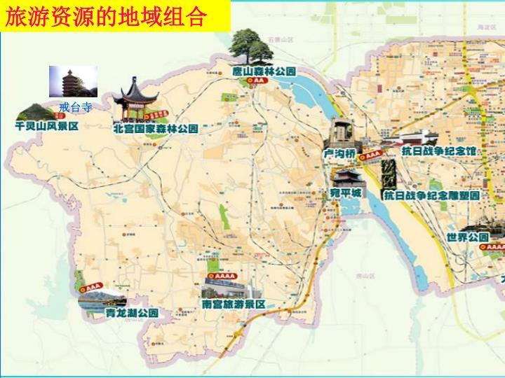 旅游资源的地域组合