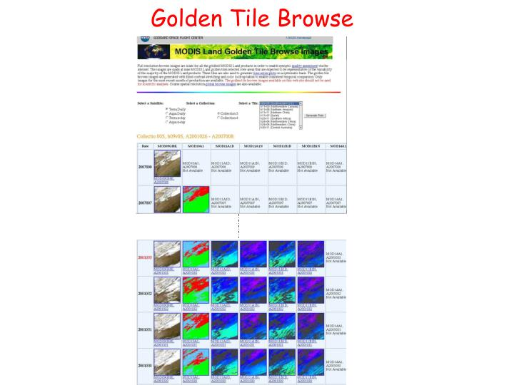Golden Tile Browse