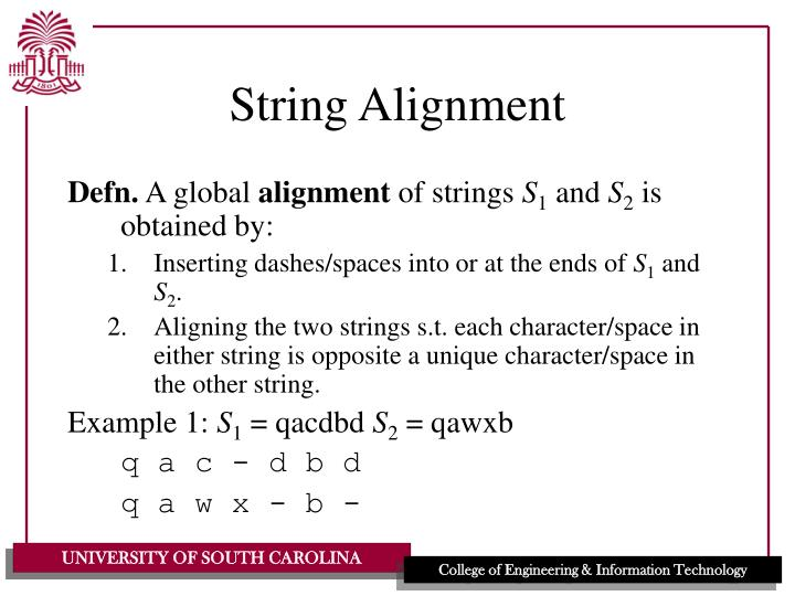 String Alignment