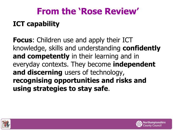 ICT capability