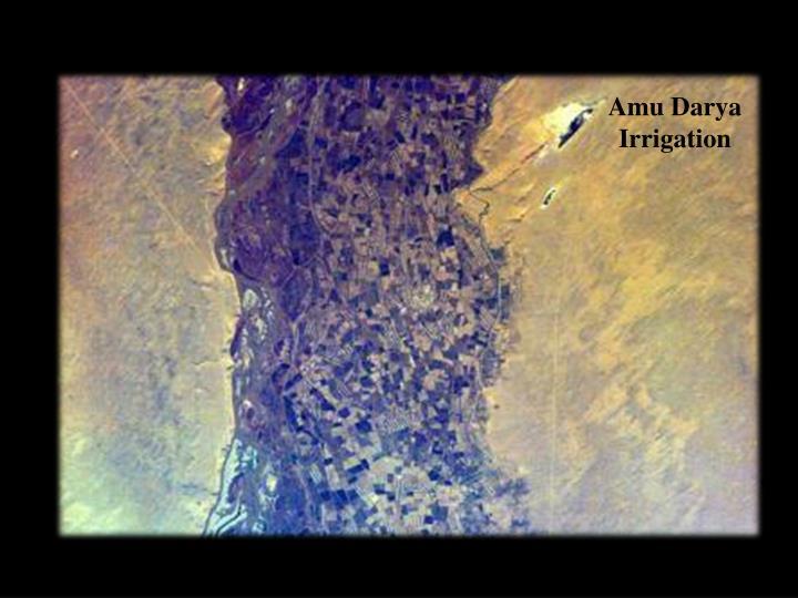 Amu Darya Irrigation