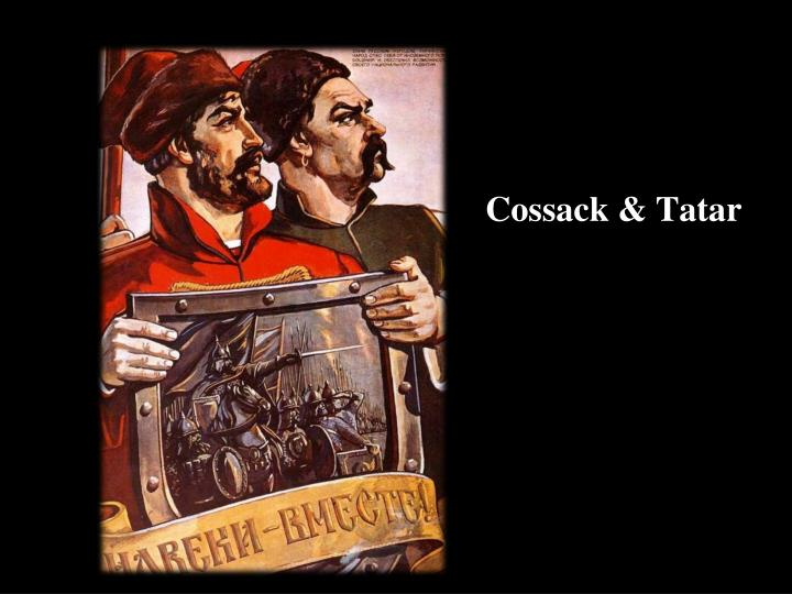 Cossack & Tatar