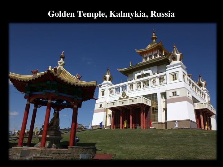 Golden Temple, Kalmykia, Russia