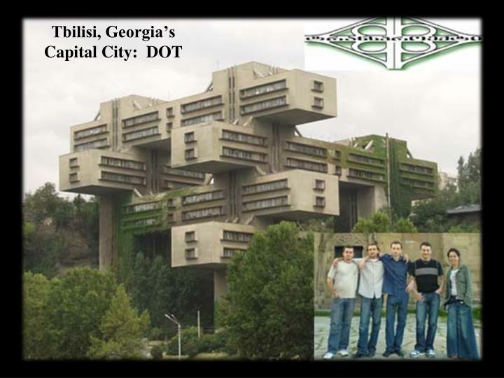 Tbilisi, Georgia's Capital City:  DOT