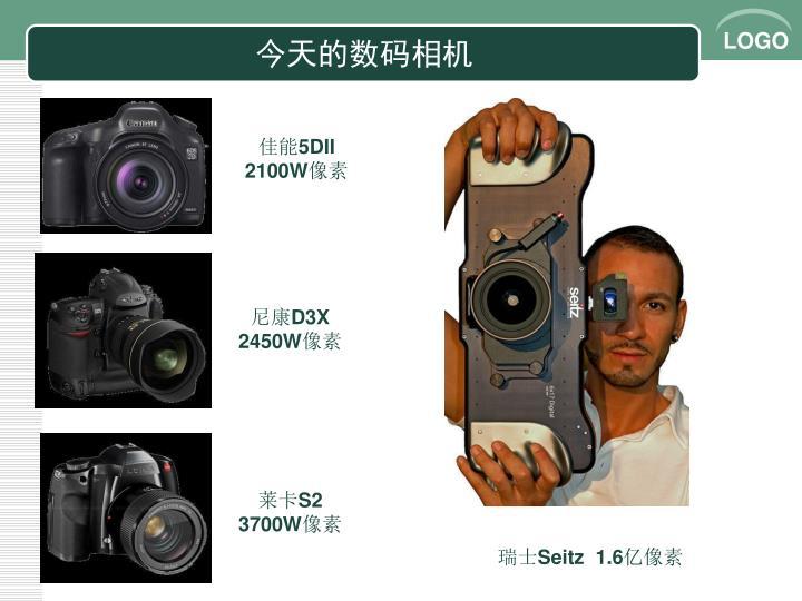 今天的数码相机