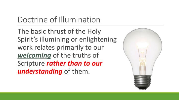 Doctrine of Illumination