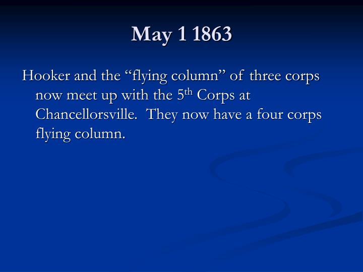 May 1 1863