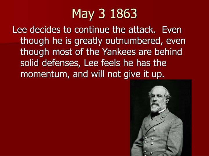 May 3 1863