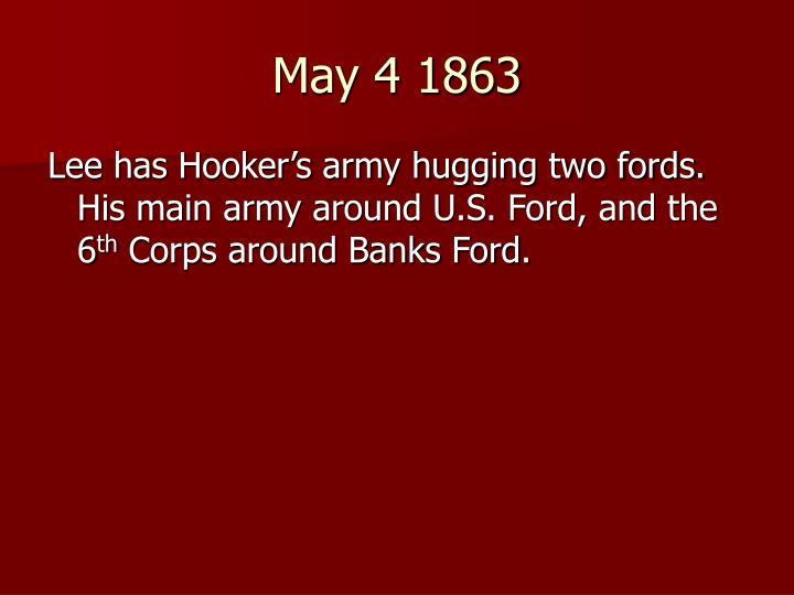 May 4 1863