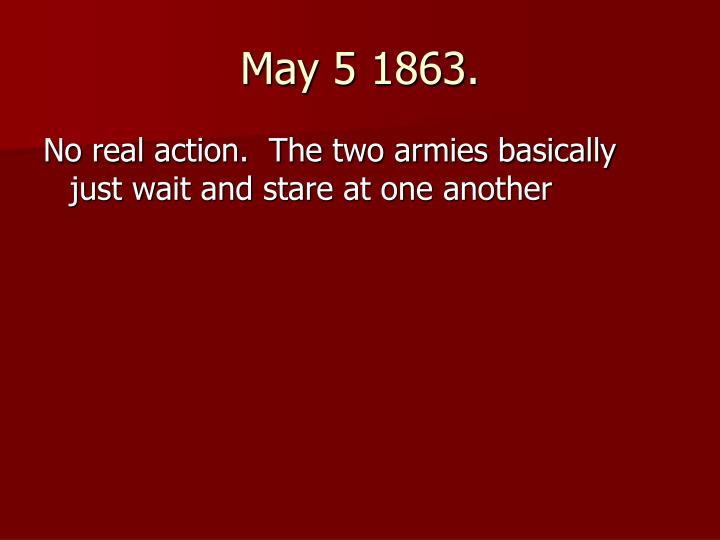 May 5 1863.