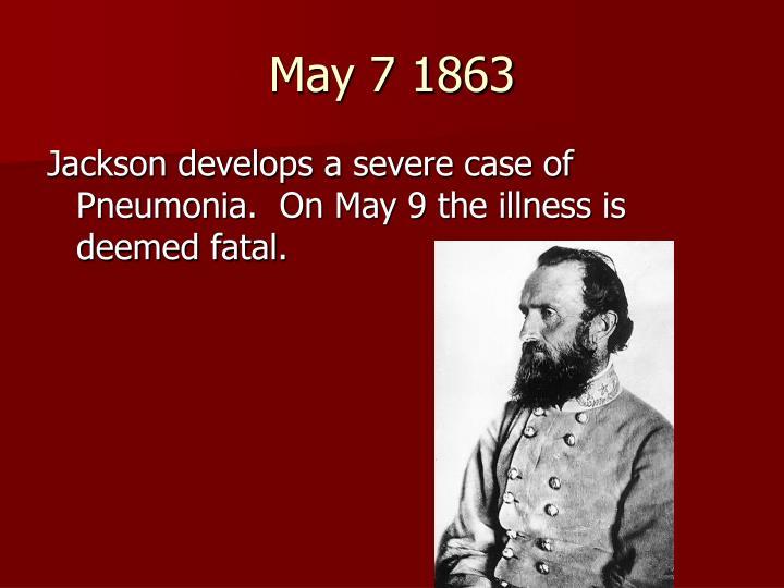 May 7 1863