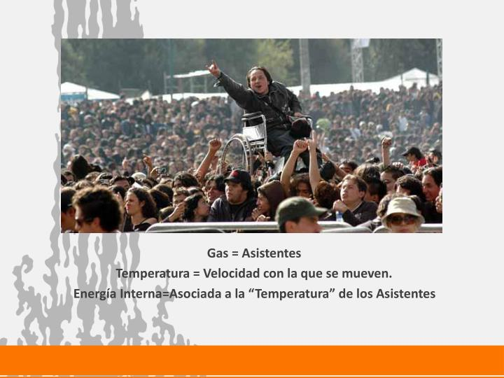 Gas = Asistentes