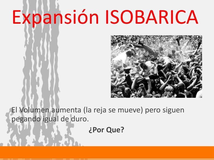 Expansión ISOBARICA