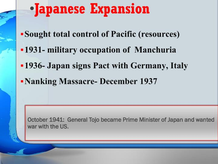 Japanese Expansion