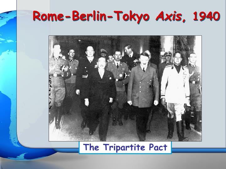 Rome-Berlin-Tokyo