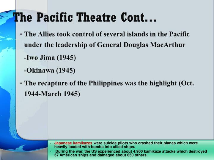 The Pacific Theatre Cont…