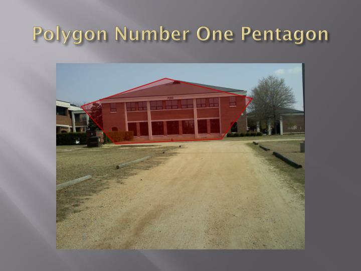 Polygon Number One Pentagon
