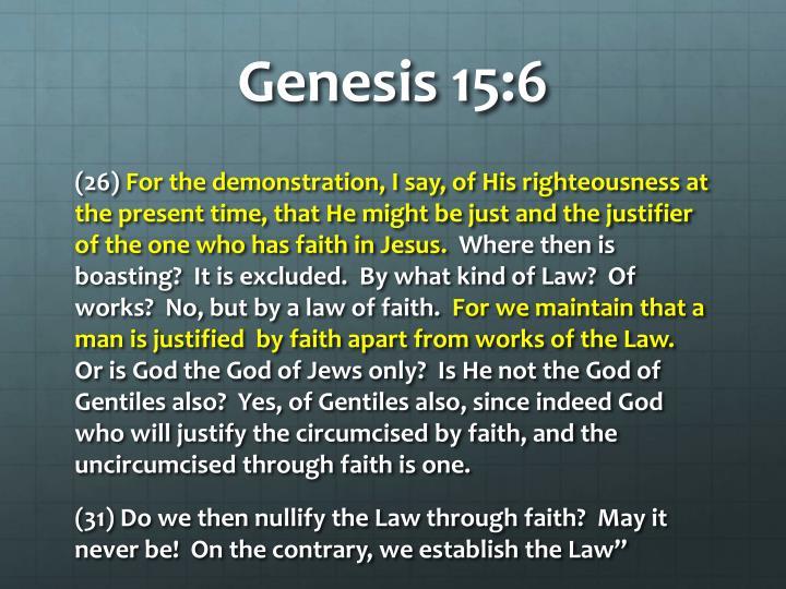 Genesis 15:6