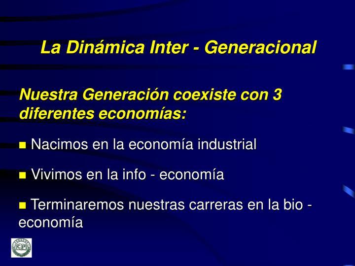 La Dinámica Inter - Generacional